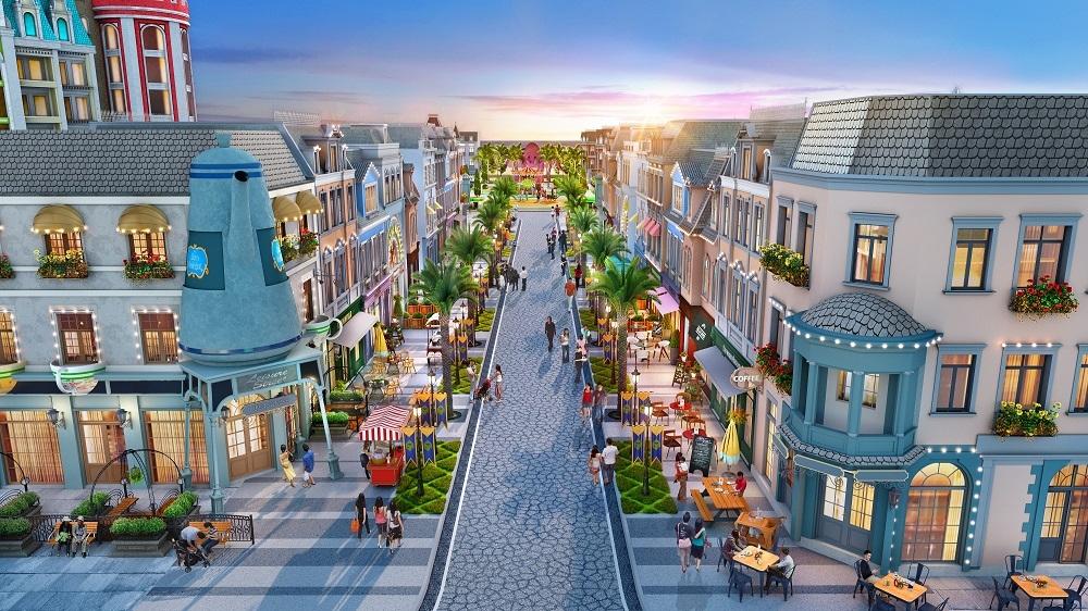 Shophouse biển Wonderland thu hút đầu tư vào Hồ Tràm