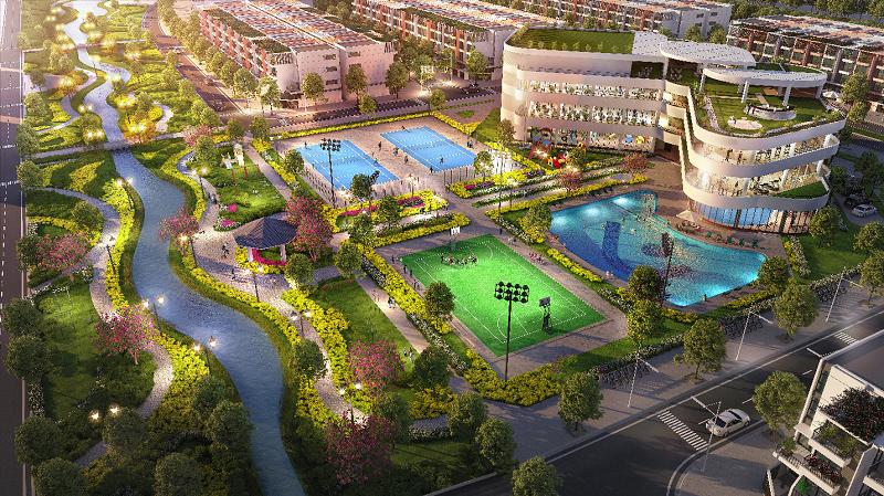 Hà Nam có khu đô thị theo mô hình Singapore phong cách sống xanh