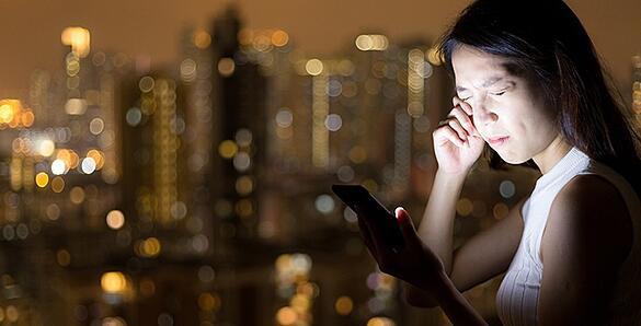 Cảnh báo: Mù mắt vì chơi game trên điện thoại