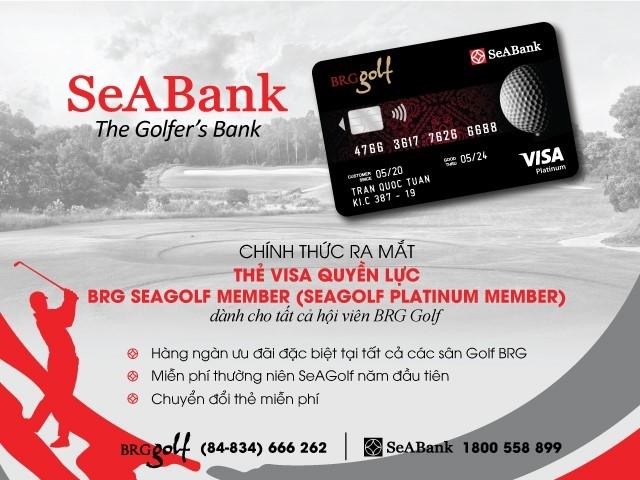 SeABank và BRG Group ra mắt thẻ cao cấp dành riêng cho hội viên BRG Golf
