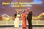Giải thưởng Asian Golf Awards 2017: Việt Nam giành hàng loạt các giải thưởng quan trọng