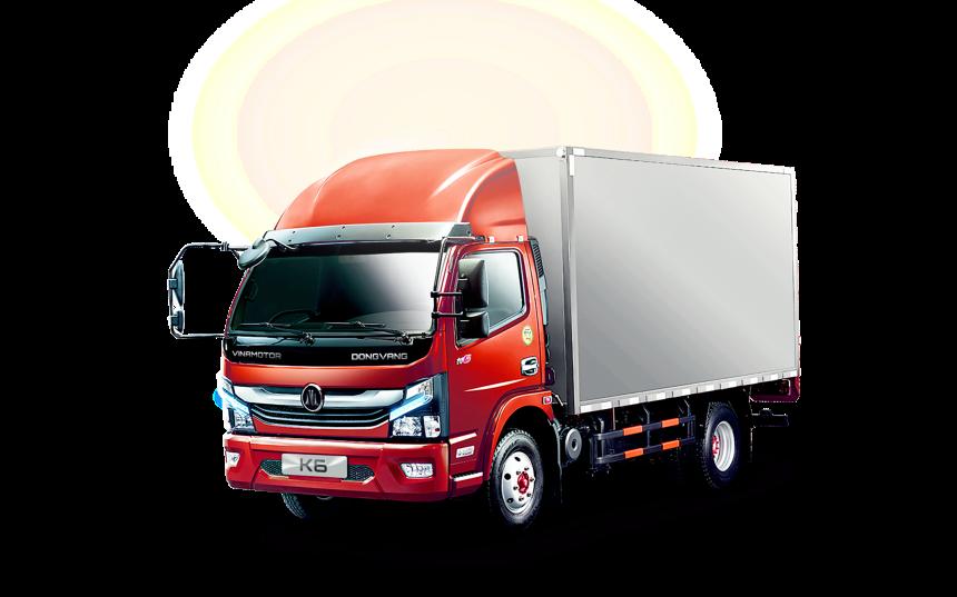 Dòng xe tải thế hệ mới Vinamotor K6: Nhỏ mà mạnh mẽ