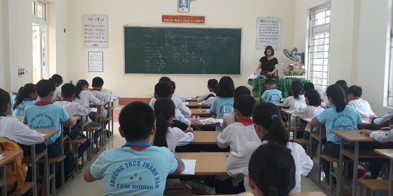 Tam Dương (Vĩnh Phúc): Trường Trung học cơ sở Thanh Vân đẩy mạnh công tác xã hội hoá giáo dục