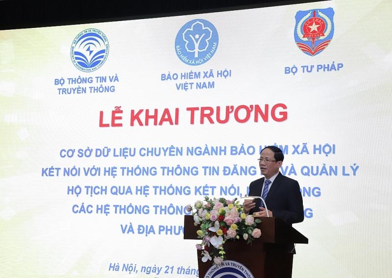 khai truong co so du lieu chuyen nganh bao hiem xa hoi