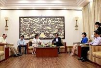 deputy minister le quang hung receives cuban ambassador in vietnam