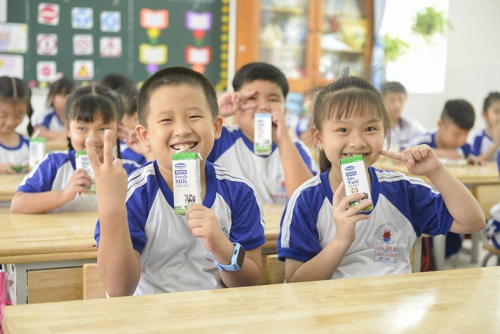 Chương trình Sữa học đường Thành phố Hồ Chí Minh mở rộng đến 24 quận, huyện