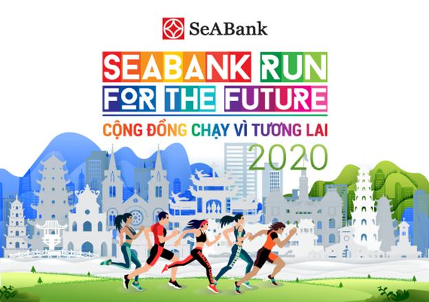 khoi dong giai chay thuong nien seabank run for the future cong dong chay vi tuong lai 2020