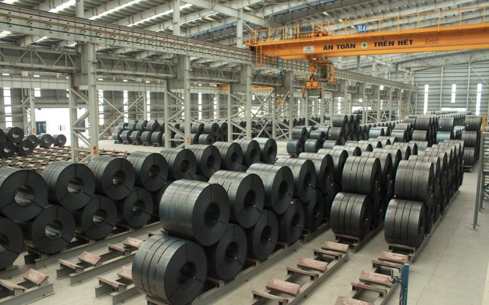 Đơn hàng HRC đã vượt 200% năng lực sản xuất của Hòa Phát