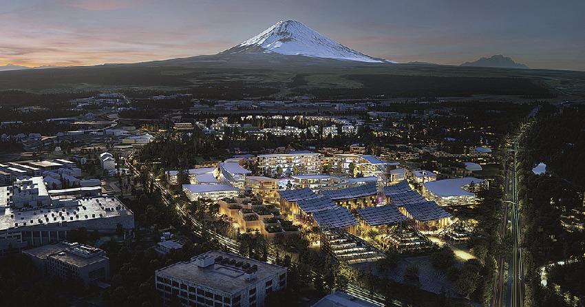 Toyota to begin construction of Futuristic Smart City in Shizuoka Prefecture in February