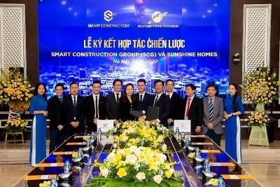 SCG ký hợp tác chiến lược với Sunshine Homes