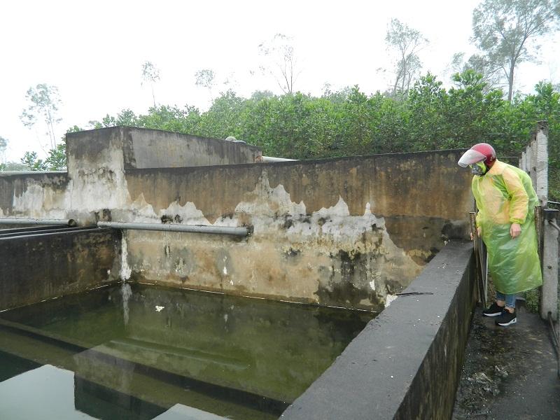"""Hà Tĩnh: Nhà máy nước sạch gần 6 tỷ """"chết yểu"""