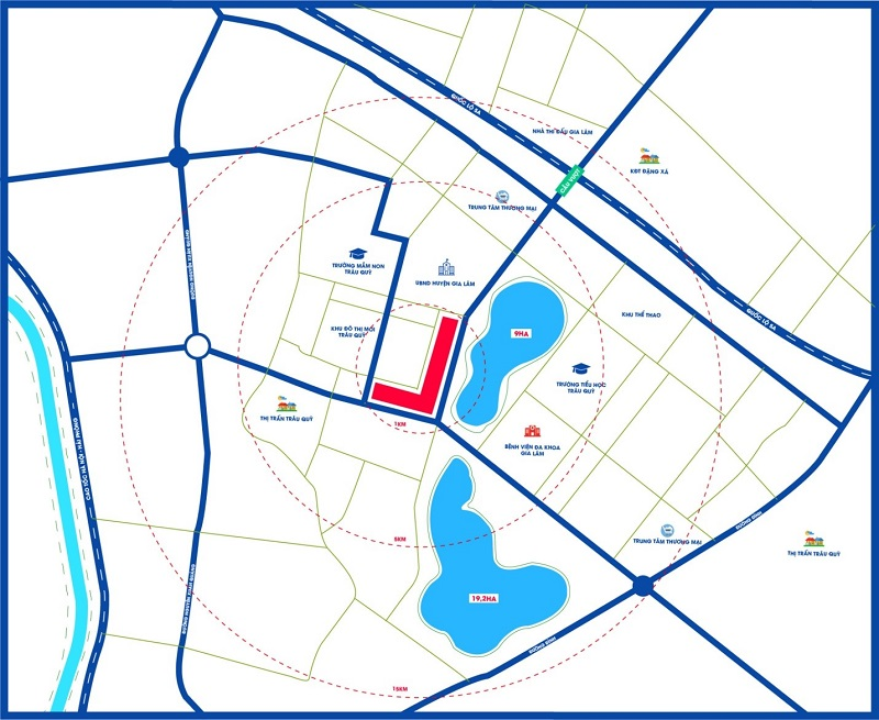 Hải Phát Invest trúng thầu đất đấu giá hơn 13.000m2 tại Gia Lâm, Hà Nội