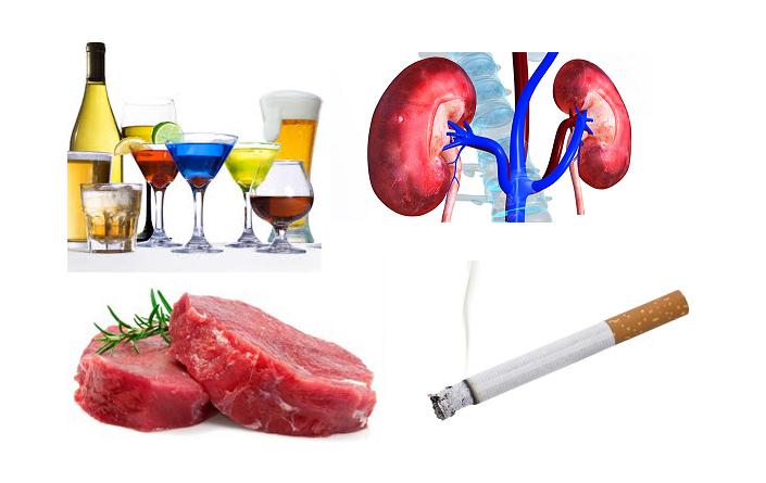 Hút thuốc lá có gây suy thận?
