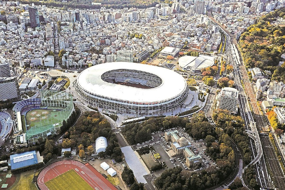 new ational stadium of 2020 tokyo olympic games