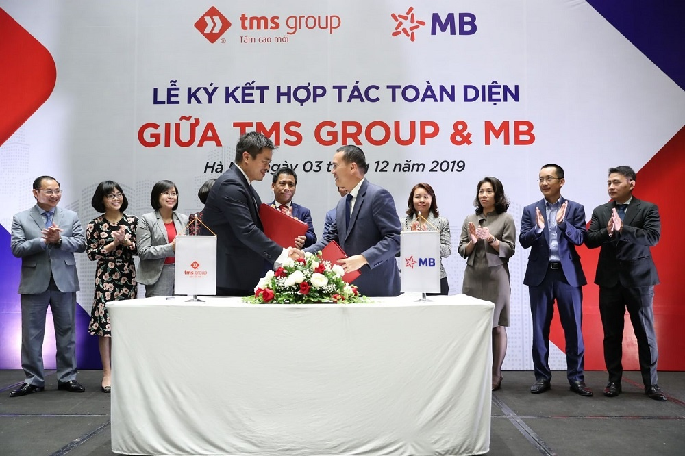 mb bank bat tay hop tac toan dien cung tms group