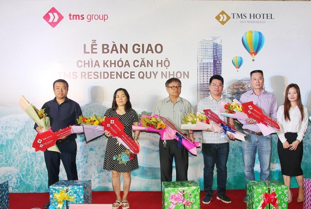 TMS Hotel Quy Nhon Beach bàn giao chìa khóa những căn hộ đầu tiên
