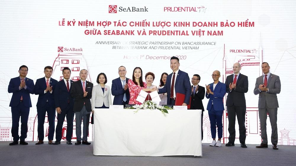 Prudential Việt Nam và SeABank thỏa thuận phân phối sản phẩm bảo hiểm trên nền tảng kỹ thuật số