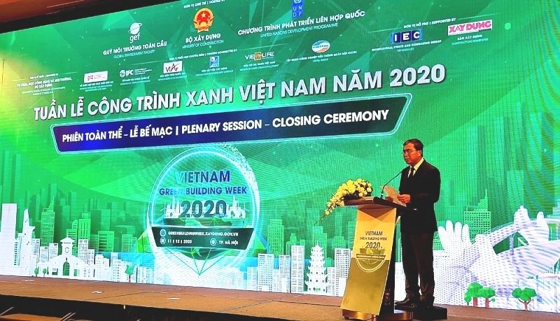 close of vietnam green building week 2020