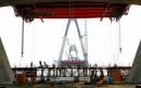 Tháng tư trên công trình cầu Nhật Tân