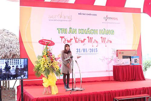 Cty Sen Vàng tổ chức chương trình tri ân khách hàng