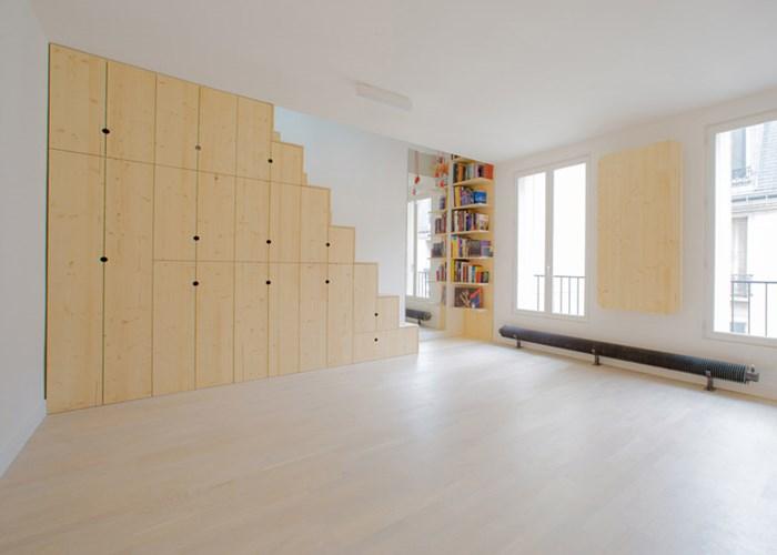 Căn hộ 35m2 thiết kế nội thất siêu hợp lý