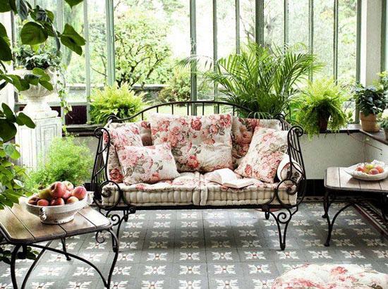 Cách sử dụng cây xanh trong trang trí nội thất
