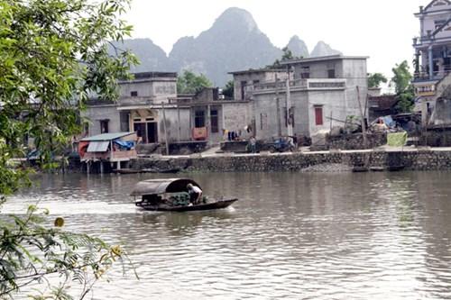 Cách hóa giải hướng nhà quay lưng ra sông
