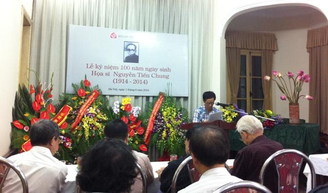 Kỷ niệm 100 năm ngày sinh họa sĩ Nguyễn Tiến Chung