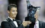 Ronaldo giành danh hiệu cầu thủ xuất sắc nhất châu Âu