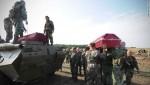 Hình ảnh đám tang của phiến quân Ukraine