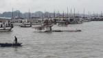 Quảng Ninh: đang tích cực trục vớt 3 tàu khách bị đắm