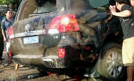 Tai nạn giao thông thảm khốc, Trung tướng Công an tử nạn