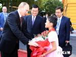 Putin: Quan hệ đối tác chiến lược Nga-Việt sẽ được củng cố