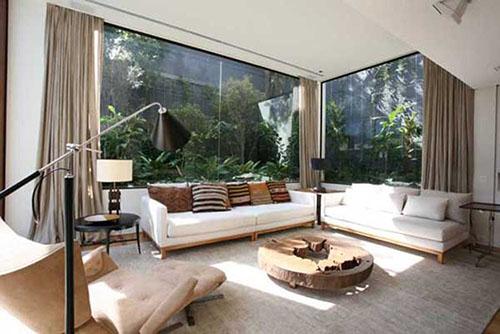 Thiết kế phòng khách theo phong cách mở (1)