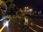 Những hình ảnh đầu tiên về bão số 3 đổ bộ vào Quảng Ninh