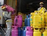 Giá gas trong nước tăng thêm 4.000 đồng/bình