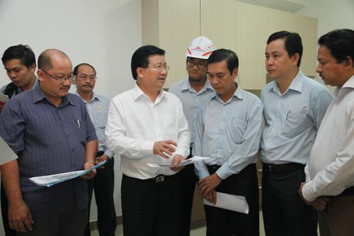 Bộ trưởng Trịnh Đình Dũng: Nhà tái định cư phải như nhà thương mại, nâng cao chất lượng cuộc sống người dân