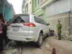 Tai nạn kinh hoàng trước cổng trường mầm non