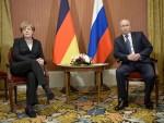 Thủ tướng Đức và Tổng thống Nga điện đàm về tình hình Ukraine