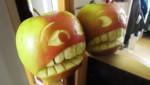 Ngộ nghĩnh với trái táo