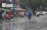 Thêm khí lạnh tăng cường, Bắc bộ mưa dông diện rộng