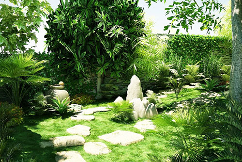 Những cách chọn, trồng cây xanh mang lại tài vận và may mắn (1)