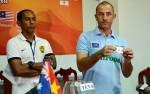 HLV Guillaume tỏ ra thất vọng vì U19 HAGL phải đi tiếp bằng bốc thăm