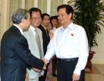 Thủ tướng tiếp lãnh đạo Hội Quy hoạch phát triển đô thị Việt Nam