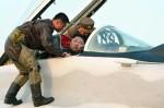 Kim Jong un ngồi buồng lái MiG-29