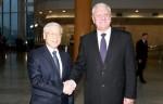 Tổng Bí thư hội kiến với Thủ tướng Belarus