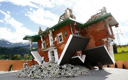 Những kiến trúc nhà kỳ quặc đến khó tin