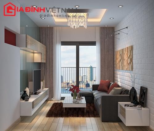 M u thi t k n i th t chung c 60m2 p quy ho ch ki n for 60m2 apartment design