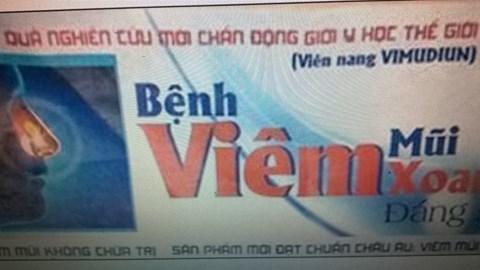 Phạt 3 công ty dược phẩm Việt Hùng, ECOFAM, Thiên Lộ