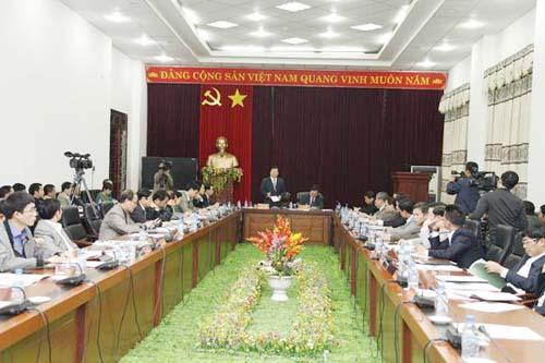 Lai Châu cần tăng cường quản lý đầu tư xây dựng trên địa bàn